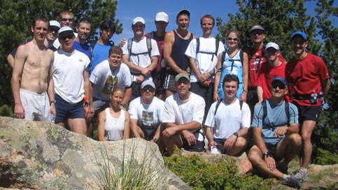 June 4, 2006 - 20 of the 24 ICers who summited 10,707' Camerons Cone