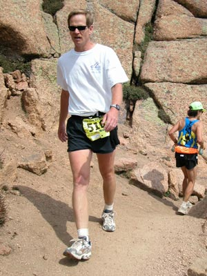 Keith Lonnquist - Too tired to even pretend to be running.....