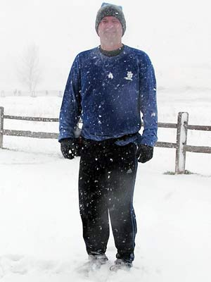 Kevin Kinney - Shortly after the April 10, 2005 IC Blizzard Run.