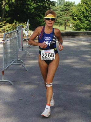 Lynne Fonda - Triathlon Worlds in previous life