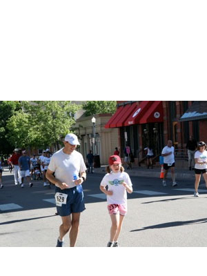 Margaret Everson - Running the Aspen 1 Miler with my Daddy