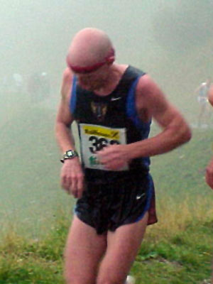 Paul Low - .7km (and 4:22 to go!) At the 2002 World Mountain Running Trophy
