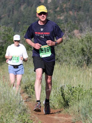 Tony Wolusky - Tony Wolusky at Summer Roundup Trailrun 2009