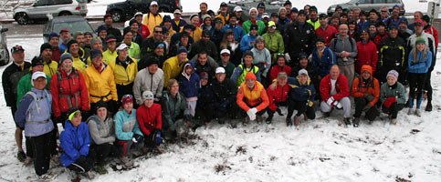 November 30, 2008 - 94 of the 98 ICers getting ready to find Waldo