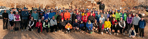 November 27, 2011 - 105 of the 112 ICers getting ready to find Waldo
