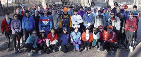 February 3, 2002 - Before a winter run