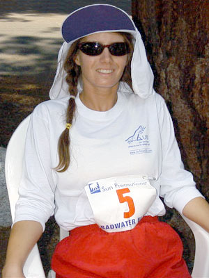 Anita Fromm - Running 135 miles across a 130 degree desert is a great way to burn fat