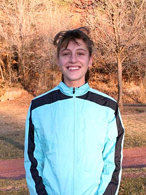 Bianca Kriel - Just before the January 8, 2006 IC run