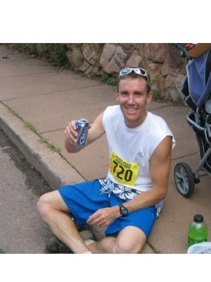 Cory Leppert - the reason i run! (taken after the completing the doubler)