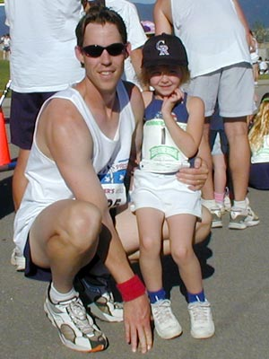 Dan Smoker - Me and my daughter, Savanna, at the 2001 Firecracker.