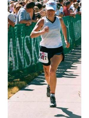 Gina Harcrow - Danskin Triathlon 2002