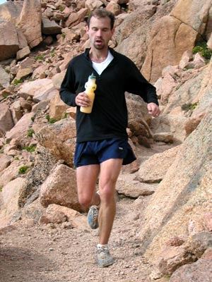 Jonathan Cavner - Dying a painful death during the Pikes Peak Marathon