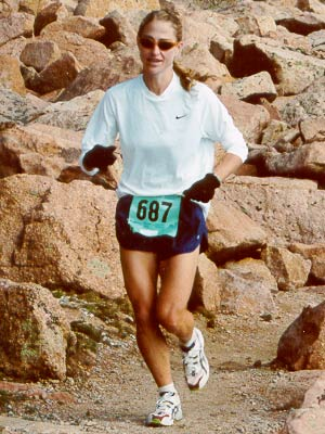 Kelli Lusk - Pikes Peak Ascent - 2000