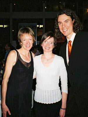 Kerry Page - Meeting Deena Kastor and Scott Jurek at a NY party. WOW!