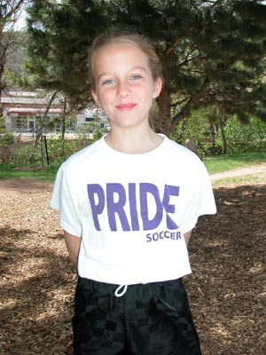 Kirstyn Cassidy - Pride soccer is cool
