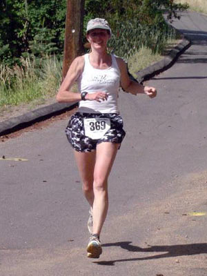 Marilyn Goodloe - Barr Trail Mountain Race, 2005