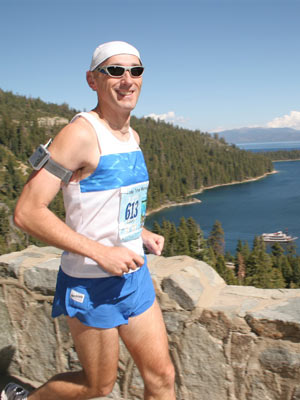 Opus Veres - Awesome morning at Lake Tahoe... too bad the dork in front blocks the scenery!