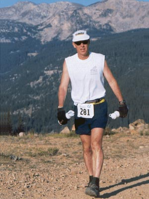 Rick Pearcy - Leadville Trail 100 - August 17, 2002