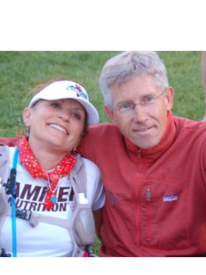 Steve Pero - Deb and I after running the San Juan Solstice 50 Miler