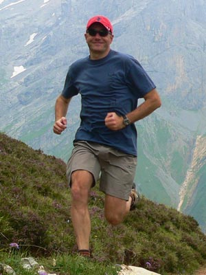 Werner Kroer - Running Fuerenalp, Switzerland
